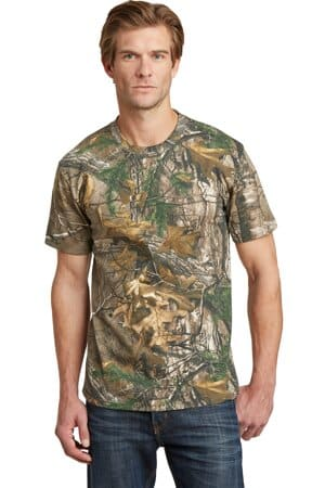 russell outdoors-realtree explorer 100% cotton t-shirt np0021r