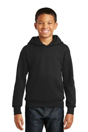hanes-youth ecosmart pullover hooded sweatshirt p470