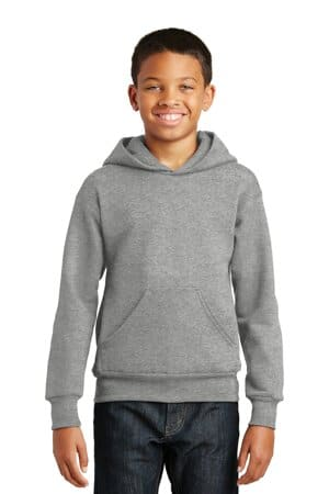 P470 hanes-youth ecosmart pullover hooded sweatshirt