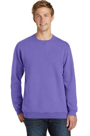 port & company beach wash garment-dyed sweatshirt pc098