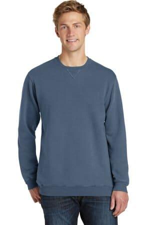 PC098 port & company beach wash garment-dyed sweatshirt