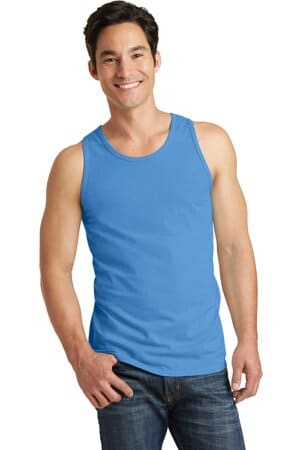 port & company beach wash garment-dyed tank pc099tt