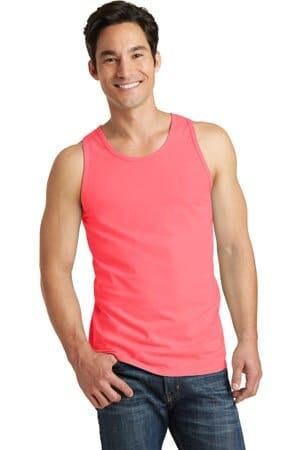 port & company beach wash garment-dyed tank pc099tt