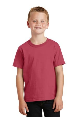 port & company youth beach wash garment-dyed tee pc099y