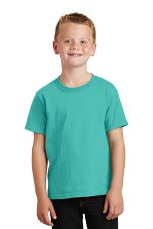 PC099Y port & company youth beach wash garment-dyed tee
