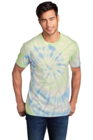 PC147 port & company-tie-dye tee pc147