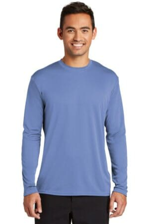 port & company long sleeve performance tee pc380ls