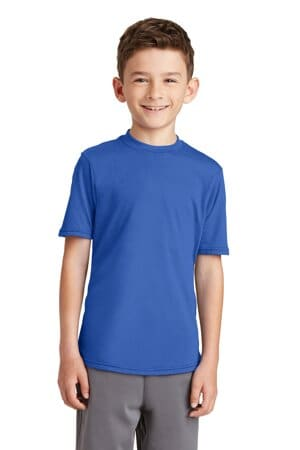 port & company youth performance blend tee pc381y