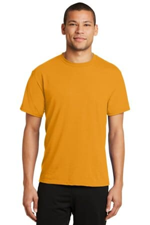 PC381 port & company performance blend tee pc381