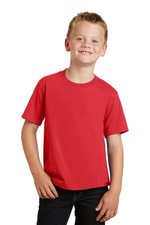 PC450Y port & company youth fan favorite tee pc450y