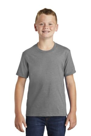 port & company youth fan favorite blend tee pc455y