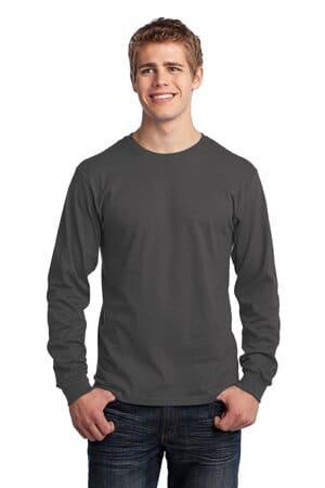 PC54LS port & company-long sleeve core cotton tee