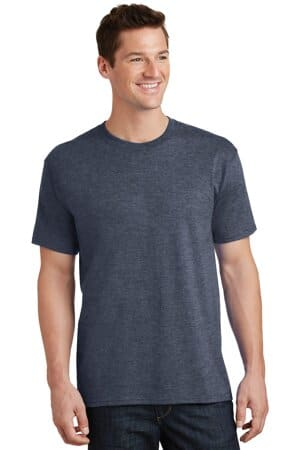 PC54T port & company tall core cotton tee pc54t