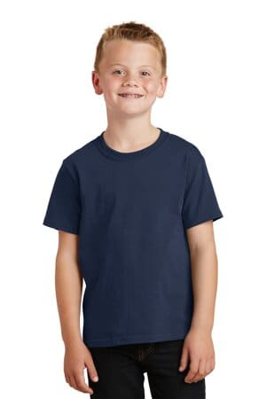 PC54Y port & company-youth core cotton tee