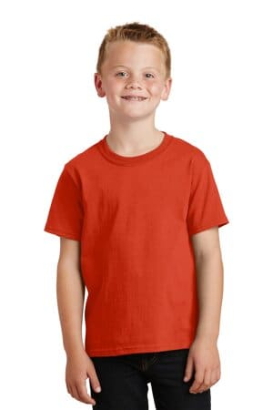 PC54Y port & company-youth core cotton tee pc54y