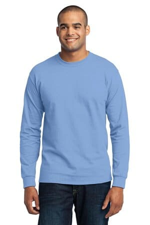 port & company tall long sleeve core blend tee pc55lst