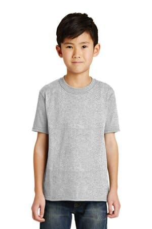 PC55Y port & company-youth core blend tee