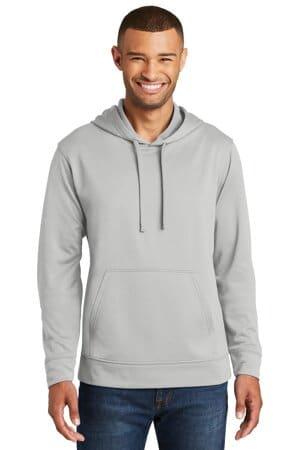 PC590H port & company performance fleece pullover hooded sweatshirt