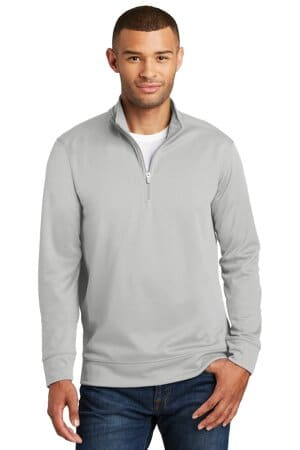 PC590Q port & company performance fleece 1/4-zip pullover sweatshirt