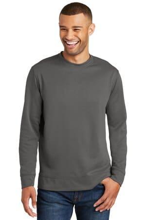 port & company performance fleece crewneck sweatshirt pc590
