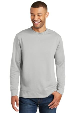 port & company performance fleece crewneck sweatshirt pc590