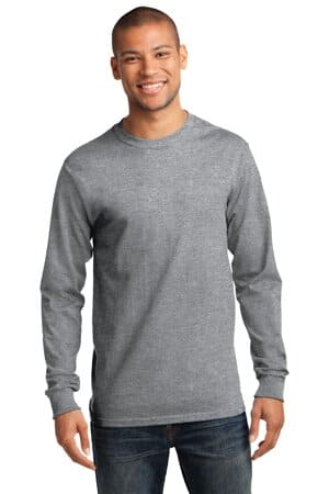 port & company-tall long sleeve essential tee pc61lst