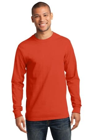port & company-long sleeve essential tee pc61ls