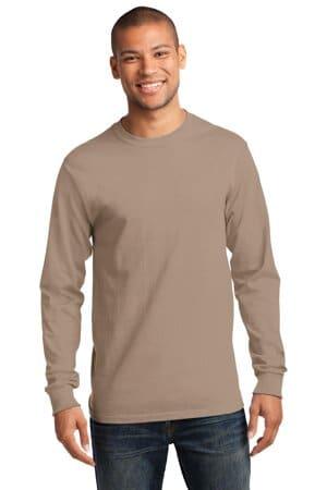 port & company-long sleeve essential tee pc61ls