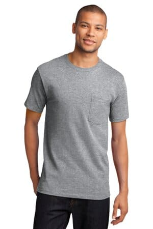 port & company-tall essential pocket tee pc61pt