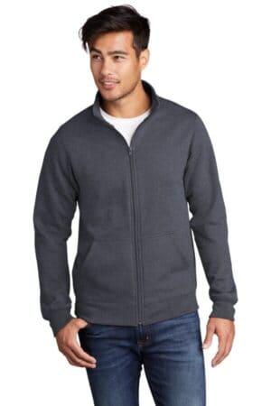 PC78FZ port & company core fleece cadet full-zip sweatshirt