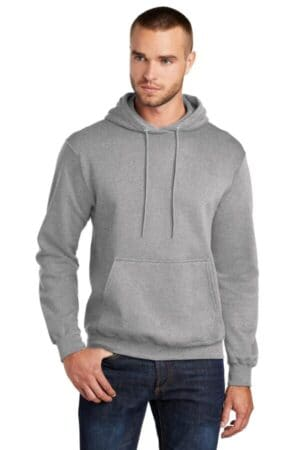 PC78HT port & company tall core fleece pullover hooded sweatshirt