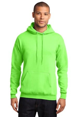port & company-core fleece pullover hooded sweatshirt pc78h