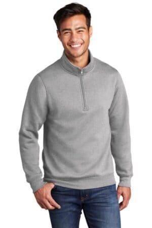 PC78Q port & company core fleece 1/4-zip pullover sweatshirt