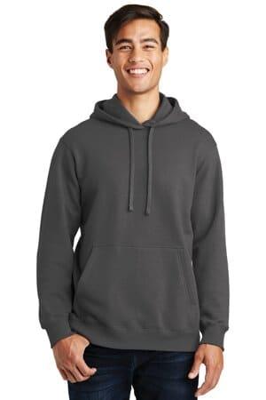 port & company fan favorite fleece pullover hooded sweatshirt pc850h