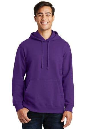 PC850H port & company fan favorite fleece pullover hooded sweatshirt