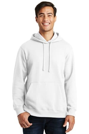 port & company fan favorite fleece pullover hooded sweatshirt pc850h