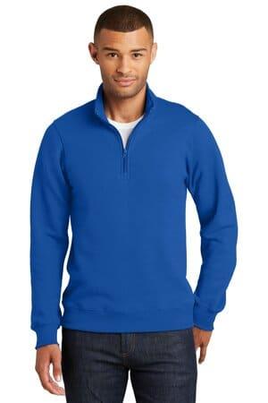PC850Q port & company fan favorite fleece 1/4-zip pullover sweatshirt