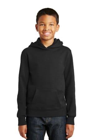 port & company youth fan favorite fleece pullover hooded sweatshirt pc850yh