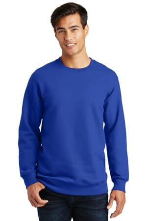 port & company fan favorite fleece crewneck sweatshirt pc850
