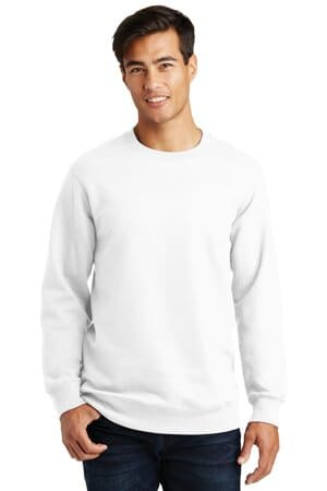 port & company fan favorite fleece crewneck sweatshirt pc850