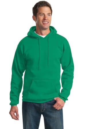 port & company tall essential fleece pullover hooded sweatshirt pc90ht
