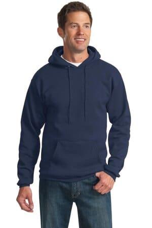 PC90H port & company-essential fleece pullover hooded sweatshirt