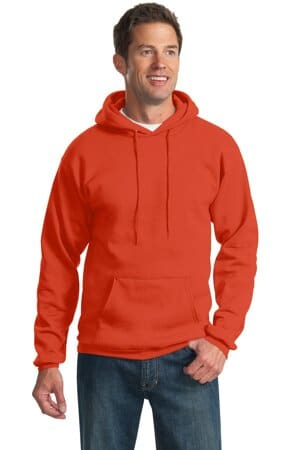 port & company tall essential fleece pullover hooded sweatshirt pc90ht