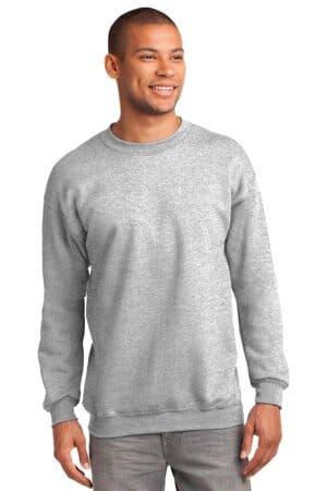 port & company tall essential fleece crewneck sweatshirt pc90t