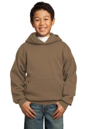 PC90YH port & company-youth core fleece pullover hooded sweatshirt