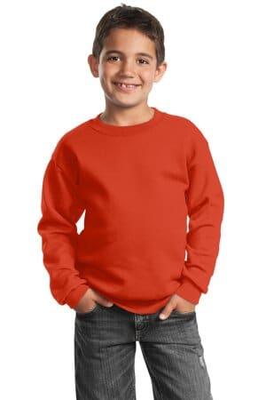 PC90Y port & company-youth core fleece crewneck sweatshirt