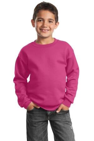 port & company-youth core fleece crewneck sweatshirt pc90y