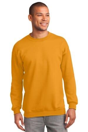 port & company-essential fleece crewneck sweatshirt pc90