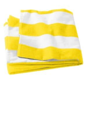 PT43 port authority cabana stripe beach towel pt43
