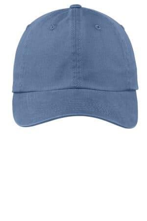 PWU port authority garment-washed cap pwu